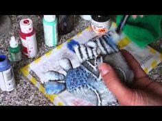 Роспись птички - Ярмарка Мастеров - ручная работа, handmade