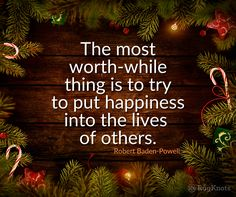 A few wool rugs on the floor and the coffee's in hand. Something to think about this holiday season and into the new year. The most worth-while thing is to try to put happiness into the lives of others.