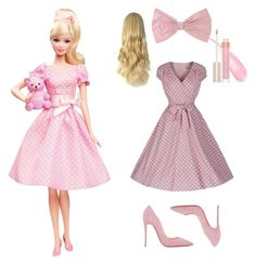 """Barbie"" by teenagewitchofficial ❤ liked on Polyvore"