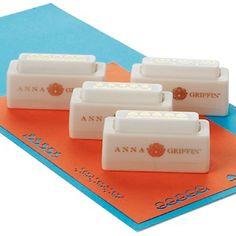 Anna Griffin® Set of 4 Border Paper Punches at HSN.com.