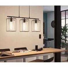 EGLO hanglamp Loncino 3 - zwart | Leen Bakker