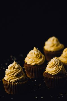 Nutella Cupcakes with Peanut Butter Coconut Frosting via @mydishisbomb