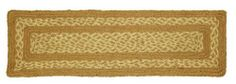 """Khaki Jute Stair Tread Rectanglar 8.5x27"""" by Victorian Heart. $5.95. All cloth items in our collections are 100% preshrunk cotton. All braided items (like rugs, baskets, etc.) are 100% jute. High end quality and workmanship!. Product measurements and additional details listed in title and/or Product Description below.. See Product Description below for more details!. Extensive line of matching items and accessories available! (Search by Collection name). 100% Jute"""