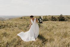 Photographer: Josie England Venue: Kansas State Alumni Center Celebrations of the Heart Bride Classic Wedding Dress, Wedding Dresses, Wear Store, Bridal And Formal, Formal Wear, Kansas, Celebrations, Special Occasion, England