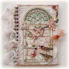Art Journal by Gabrielle Pollacco -Such a pretty mess blog-she always does such beautiful work