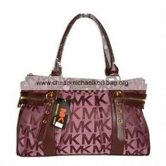 Michael Kors Outlet Classic Tote Large Pink Striped