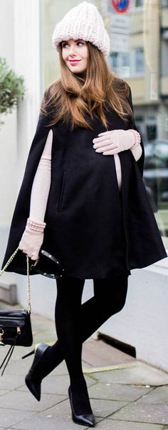 Perfect Winter Maternity Outfit