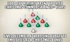 If this is true, I'm gonna support Hershey's by eating more kisses!  Yay!