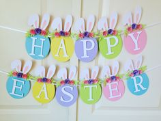 Happy Birthday Wishes For A Friend, Happy Birthday Girls, Happy Birthday Greetings, Happy Birthday Cakes, Happy Easter Banner, Happy Easter Day, Happy Mothers Day Images, Diy Easter Decorations, Table Decorations
