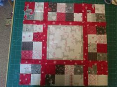 Front for Christmas cushion