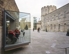 Oxford Castle Project by Panter Hudspith Architects
