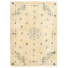 Elegant Antique Chinese Carpet