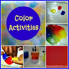activities for learning about color