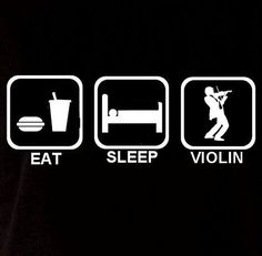 Eat Sleep Violin Play Music Long Sleeve Unisex Men Womens Sweatshirt Sweater T Shirt T-shirt Humor Funny Fun Gift Present Cool Geek Crazy on Etsy, $17.90