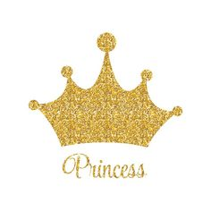 Photo about Princess Golden Glossy Background with Crown Vector Illustration Illustration of fashion, queen, gift - 76890844 Baby Shower Princess, Baby Princess, Princess Party, Princess Castle, Princess Theme Birthday, 1st Birthday Girls, Tapete Gold, Printable Banner Letters, Kid Decor