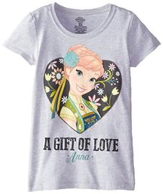 LICENSED XL GIRL/'S FROZEN GRAPHIC TOP T-SHIRT *NWT SIZE: M LS DISNEY