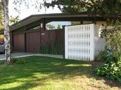 Eichler Home, Sacramento. Photo: Gretchen Steinberg (atomicpear).