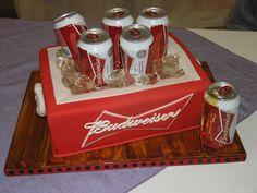 BUDWEISER GROOM'S CAKE   Budweiser - Limited Edition Cakes
