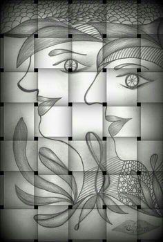 Desenho em 6B de Maria Inês Pirani
