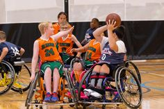 https://flic.kr/p/21fskMS | Jr. Pacers Wheelchair Basketball Home Tournament @ Mary Free Bed YMCA - Nov 4, 2017