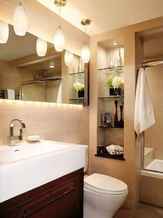 perfect plan for a small bathroom
