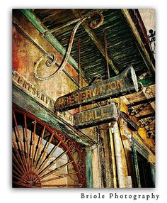 New Orleans Preservation Hall French Quarter Photograph by Briole,