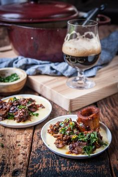 Stout Osso Bucco. SO good and so easy!
