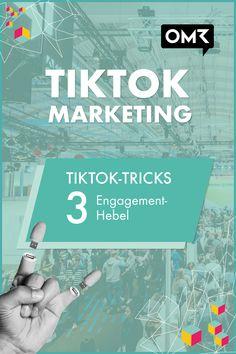 """Es ist fast schon so etwas wie ein kleiner Goldrausch, der rund um die Social-Video-App TikTok entstanden ist: Mit wachsenden Nutzerzahlen versuchen immer mehr Influencer, Creator und Marketingmacher die Reichweite der Plattform anzuzapfen. Nicht wenige von ihnen bedienen sich dabei Tricks, um vom Algorithmus der Plattform bevorzugt behandelt zu werden. OMR dokumentiert drei aktuell erfolgreiche """"TikTok Growth Hacks"""" und zeigt Beispiele. Marketing Tools, Business Marketing, Email Marketing, Content Marketing, Affiliate Marketing, Social Media Marketing, Digital Marketing, Success, Influencer"""