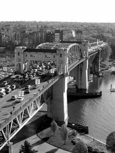 Another bridge I have run over:) Burrard St Bridge, Vancouver BC Richmond Vancouver, Vancouver Bc Canada, Vancouver City, Vancouver Island, Suspension Bridge Vancouver, West Coast Canada, Laundry Hacks, City Landscape, Urban Life