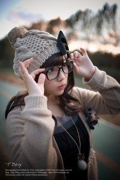 I wish I had a cam and cutter glasses~ T^T Japanese fashion | mori