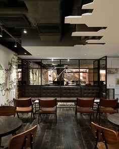 Urban bakery café by Joey Ho Design, Hong Kong – China » Retail Design Blog