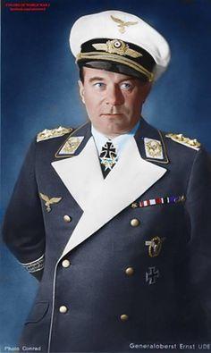 Ernst Udet (26 April 1896 – 17 November 1941) was a German pilot and air force general during World War II.