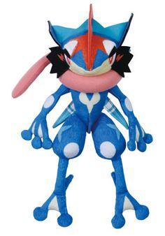Pokemon Plush Ninmagune Action Ash's Greninja by Takara Tomy