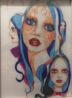 """""""Blue Girls Set"""" illustration 3"""