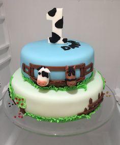 Farm Birthday Cake, dort farma