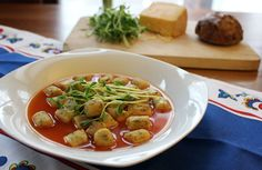 Pate a Choux = French Gnocchi When poached and then sauteed in butter it becomes these flavorful, tender gnocchi!