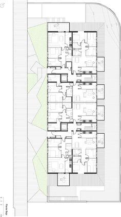 Pich-aguilera Arquitectos, Simón García · 30 social dwellings in Gavà