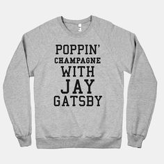 Poppin' Champagne With Jay #Gatsby #party