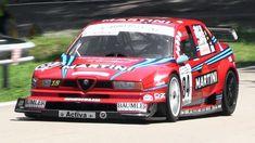 INSANELY LOUD 1996 Alfa Romeo 155 V6 Ti Screaming On Hill Climb