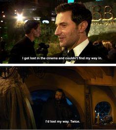 Thorin - Richard Armitage. Basically the same person.