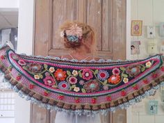 Beautiful boho crochet work