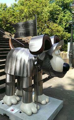Sir Gromit Of Bristol. Shaun The Sheep, Dog Show, British Isles, Home And Away, Community Art, How To Raise Money, London England, Knights, Bristol