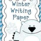 This is cute colorful Winter themed writing paper.  Lined for Pre-K- 1st grade students.   It prints beautifully in black and white or color.  Grea...