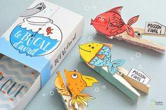 C'est le 1er Avril ! Les poissons sont de sortie :D #DIY #Poissondavril