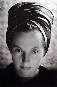 Olive Cotton – The Turban, ca. Ellen Von Unwerth, Vivian Maier, Australian Vintage, Australian Fashion, Annie Leibovitz, Diana, Australian Photography, Wearing A Hat, Female Photographers
