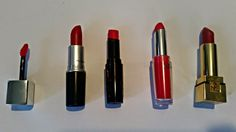Lipstick and bubbles: Top 5 // Red Lipsticks