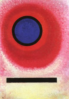 Blue Circle II,1925,by Wassily Kandinsky