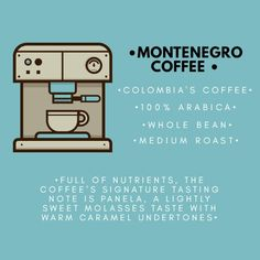 We promote and distribute Colombian culture in the United States through our coffee.In Montenegro coffee you find not only quality coffee but tradition, love and dedication that pays homage to the majestic coffee farms of Colombia. Follow us on Instagram @coffeemontenegro or visit our website www.coffeemontenegro.com Colombian Culture, Colombian Coffee, Coffee Farm, Montenegro, Farms, United States, Website, Instagram, Homesteads
