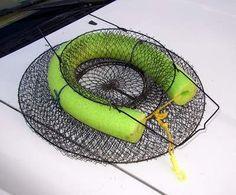 Float Tube Fishing: Float Tubing General: fish keeper/cvrawdad catcher https://uk.pinterest.com/uksportoutdoors/kayakiing/pins/