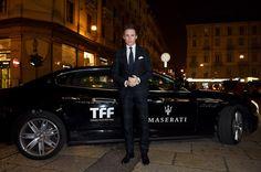 Eddie Redmayne Photos: Maserati Arrivals at the 32th Turin Film Festival